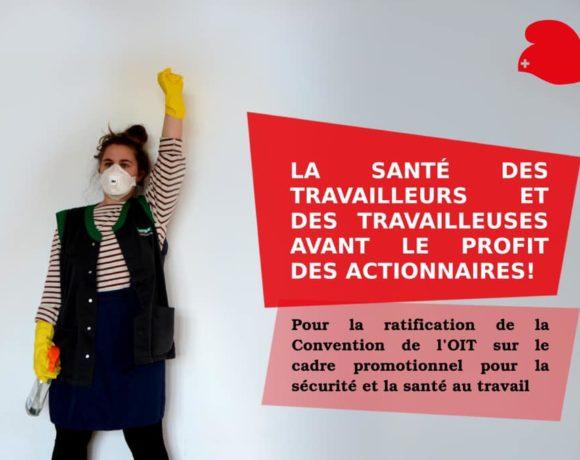 La Suisse doit protéger la santé des travailleuses et des travailleurs!
